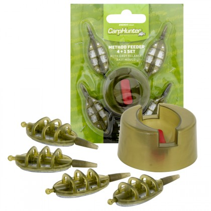 Carp Hunter method feeder 4+1 szett